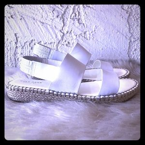 Cole Haan Cloudfeel Espadrille Sandal White